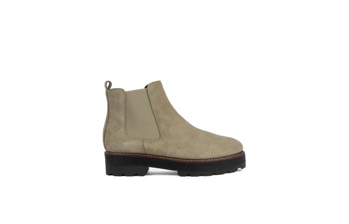 Beige Noa Ankle Boots