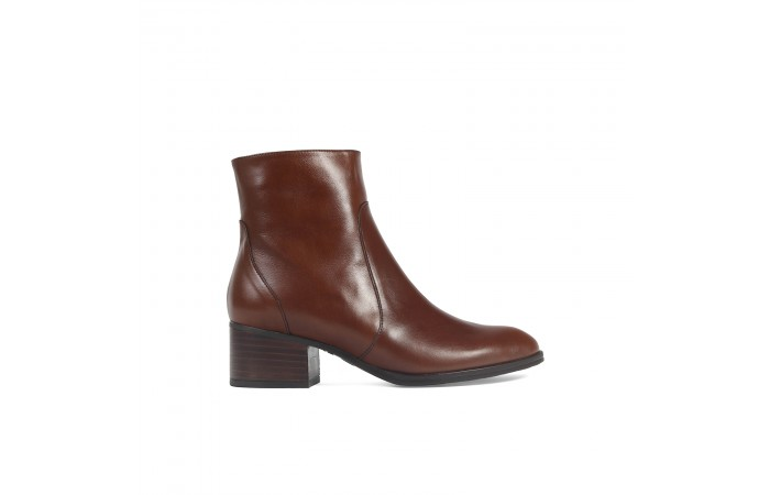 Brown Penny Ankle Boots