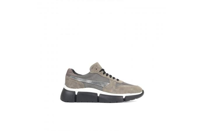 Taupe platform Jane sneaker