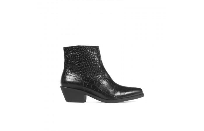 Black Cowboy Coco Boots