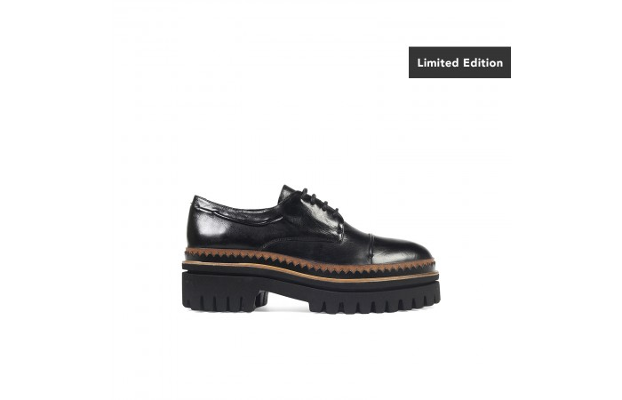 Black Platform Frankie Oxford