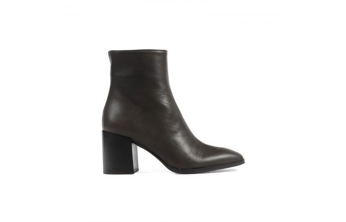 Brown Keyra heeled Boots