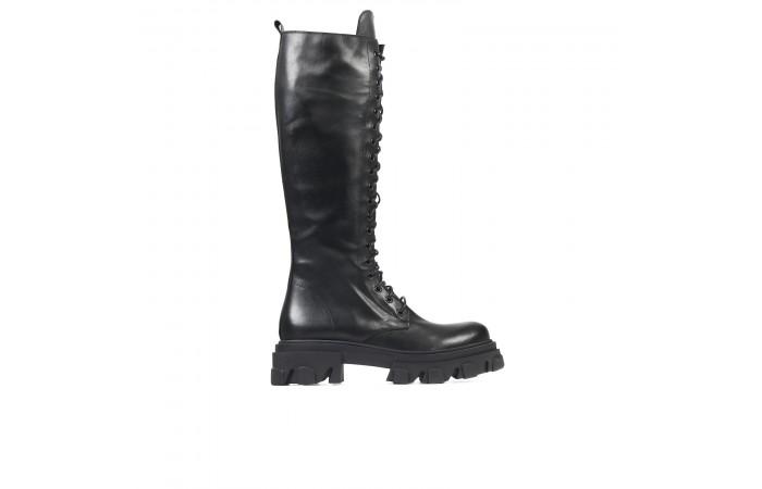 Joy Platform Laces High Boots