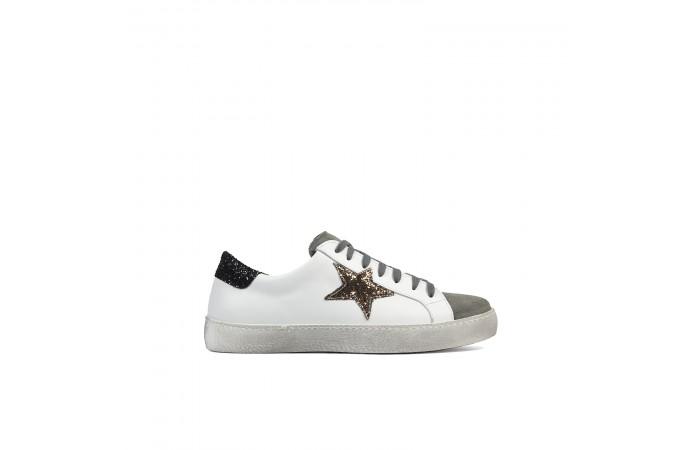 Glitter star waste sneaker
