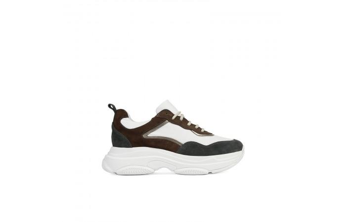 Sneaker Plataforma Yoko Verde