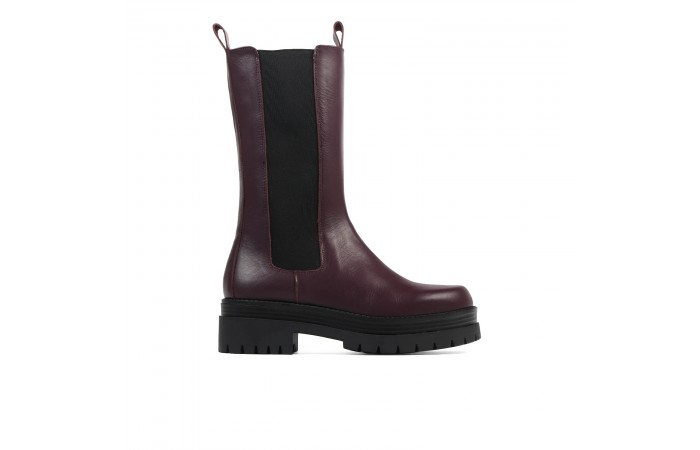 Bota Plataforma High Billie...
