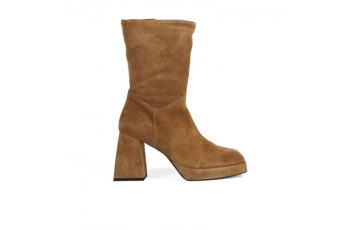 Camel Bonnie Ankle boots