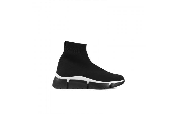 Black Jane sock sneaker
