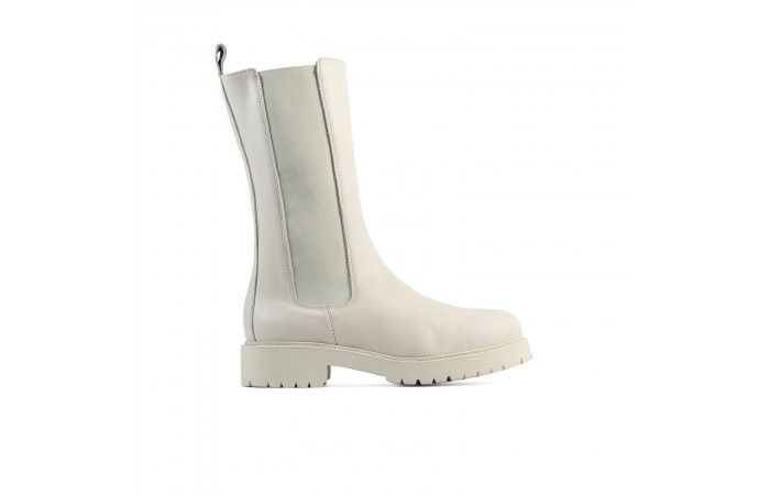 Bota High White Kelsie