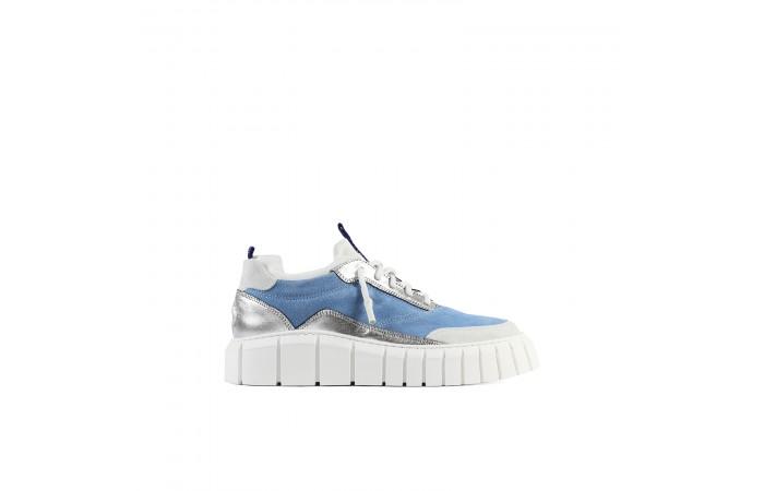 Blue Platform Tokio Sneakers