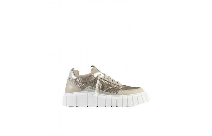 Beige Platform Tokio Sneakers