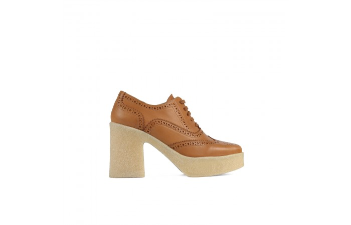 Camel leather Valerie Blucher