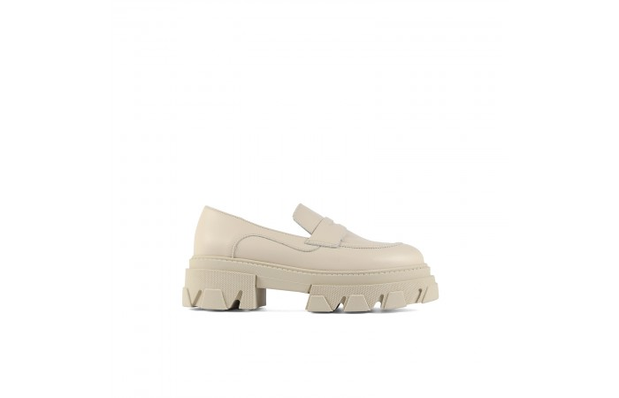 Beige Joy Loafer