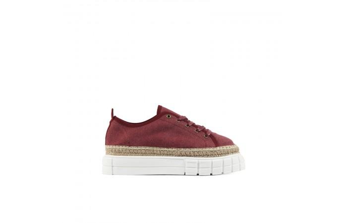 Sneaker Verona Granat