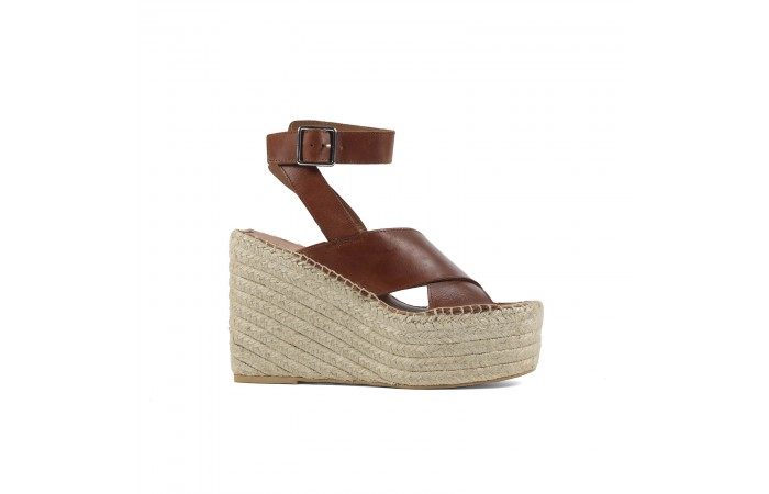 Leather Cross Sandal...