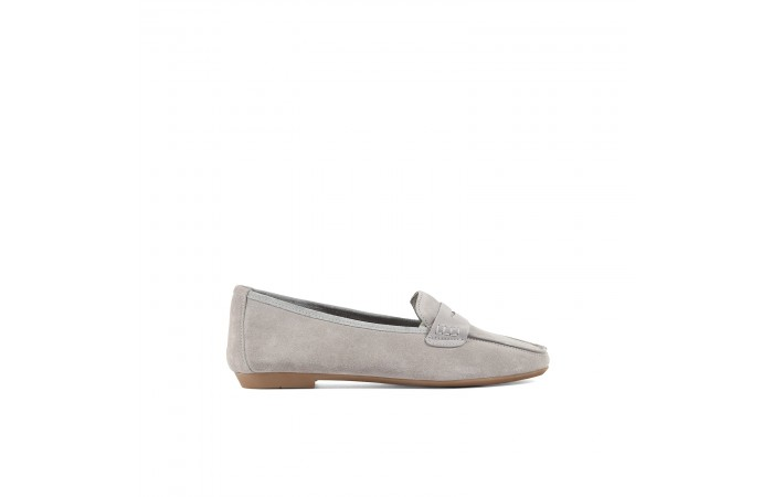 Gray Julieta Loafers