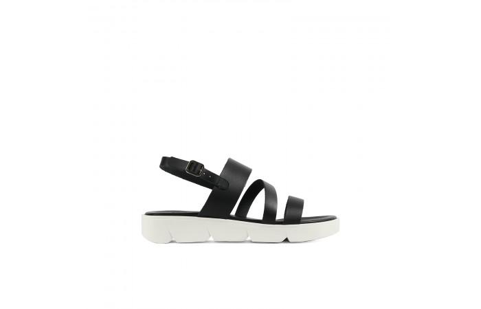 Black Straps Leiza Sandal