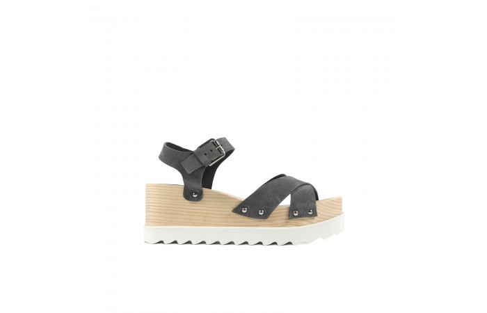 Gray Whitney sandals