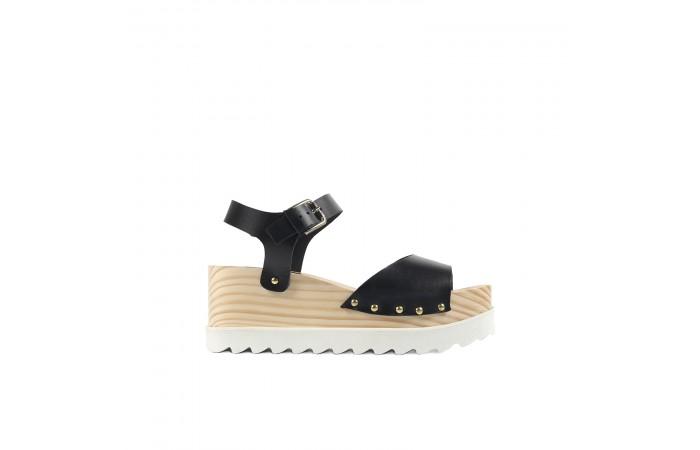 Black Whitney sandals