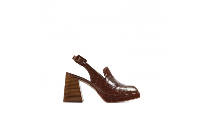 Brown Coco loafers