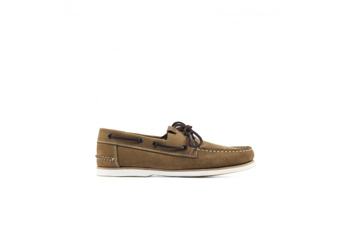 Brown suede Nautical