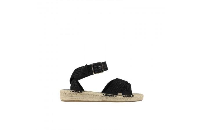 Black Kos Sandals
