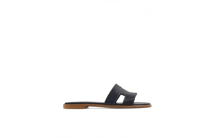 Dark blue Greek sandal...